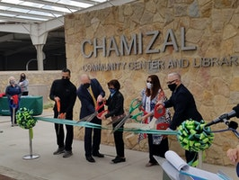 City of El Paso Cuts Ribbon on Chamizal Community Center, Park