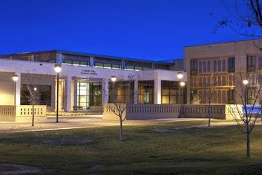 f-marie-hall-academic-building