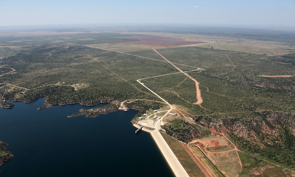lake alan henry water supply project Gallery Images