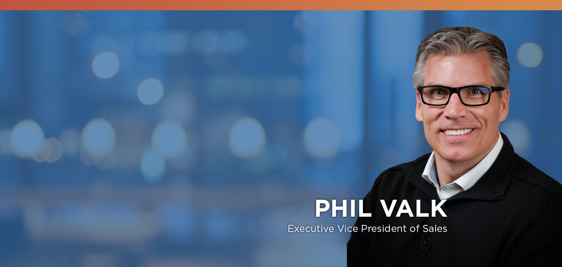 Fairos Names Phil Valk Executive Vice President of Sales