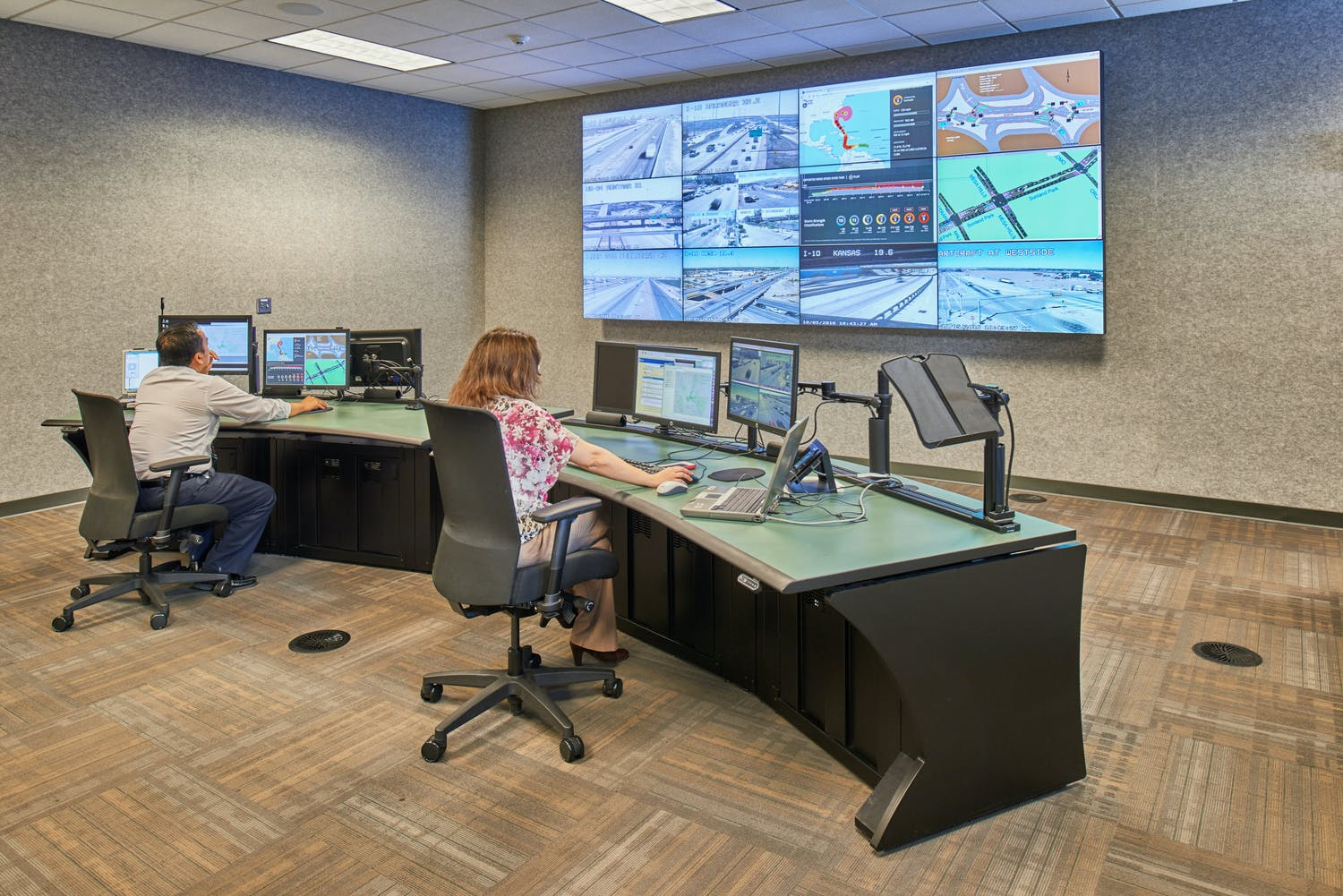 Walter P. Moore and Associates and Parkhill Awarded for City of El Paso Traffic Management Center