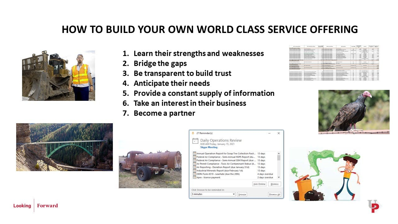University of Parkhill 2021: 7 Ways to Provide World Class Services to General Managers cover image