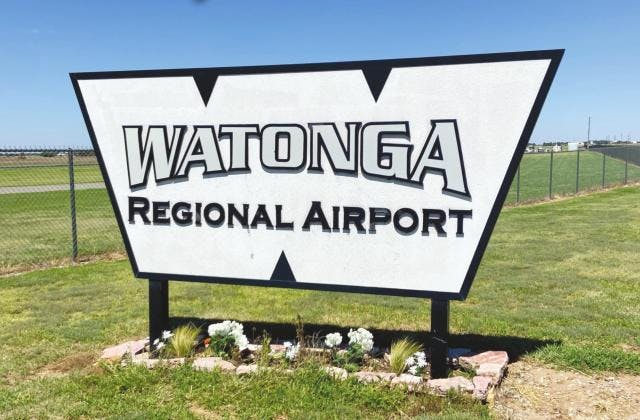 Watonga Republican: Watonga to Reconstruct Airport with Federal Grant
