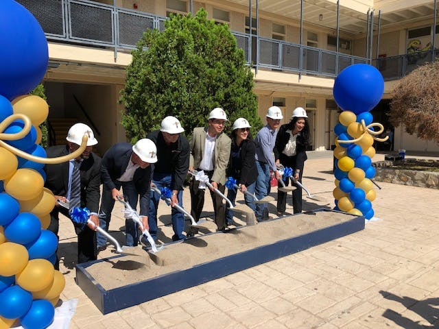 El Paso ISD Breaks Ground on Coronado High School Improvements