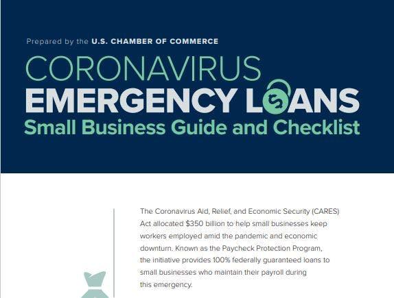 Corona Virus Emergency Business Loans