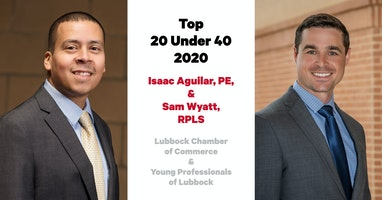Two Parkhill Employees Named in Lubbock Chamber of Commerce Young Professionals Awards