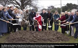 City of Arlington: Arlington Heritage Memorial Grounds Restoration Project