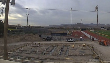 Time-Lapse Tuesday - Construction at Coronado High School New Fieldhouse in El Paso