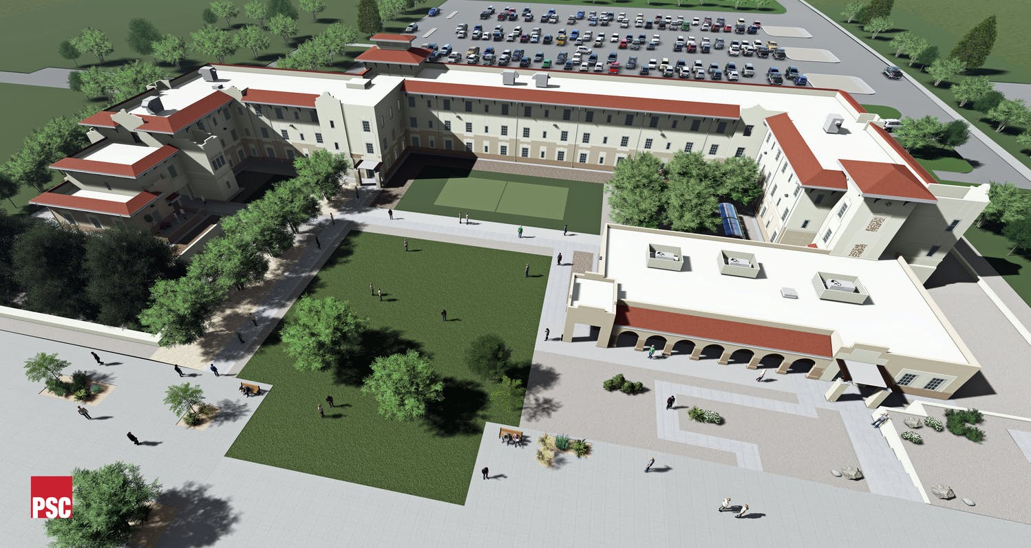 N M S U New Residence Hall Gallery Images